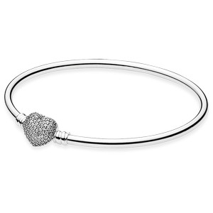 6ee6148a8 Pandora Bangle Always in my Heart (590722CZ) - Trendy Jewels