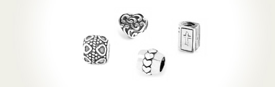 SimStars Silver Beads