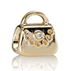 Charm Gold Purse with Diamond
