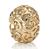 Charm Gold with Swirls