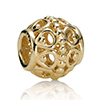 Charm 14K Gold with Bubbles